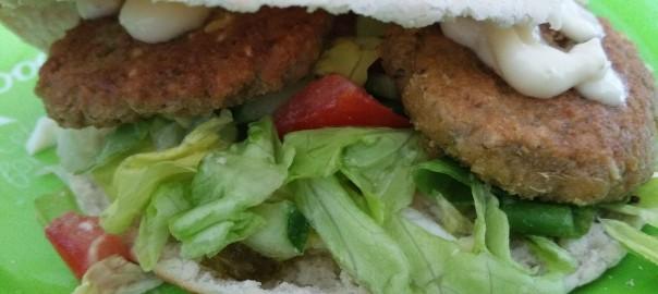 Broodje falafel