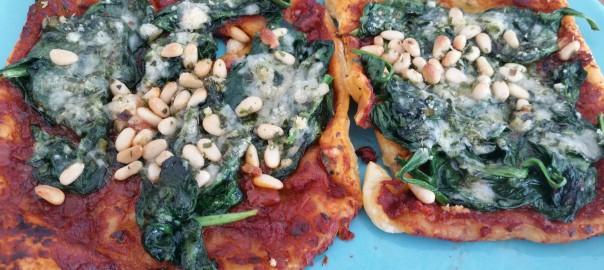 Bladerdeeg-pizza